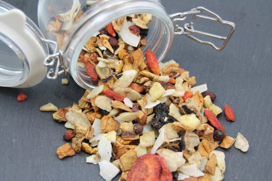 Getreidefreie Futterflocken für Ihren Hund - zum BARF und Frischfleisch