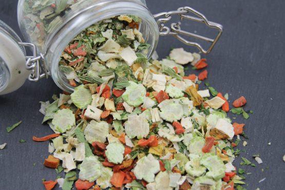Getreidefreie Futterflocken für Ihren Hund